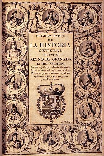 Portada de Fernández de Piedrahita, Primera parte de la Historia general.